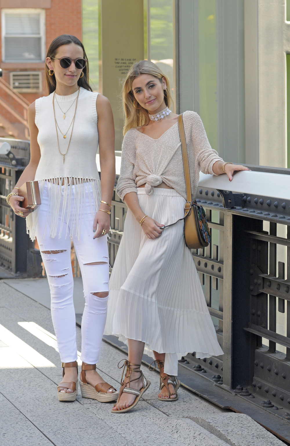 YIN 2MY YANG BICKLEY SISTERS NEUTRALS N KNITS