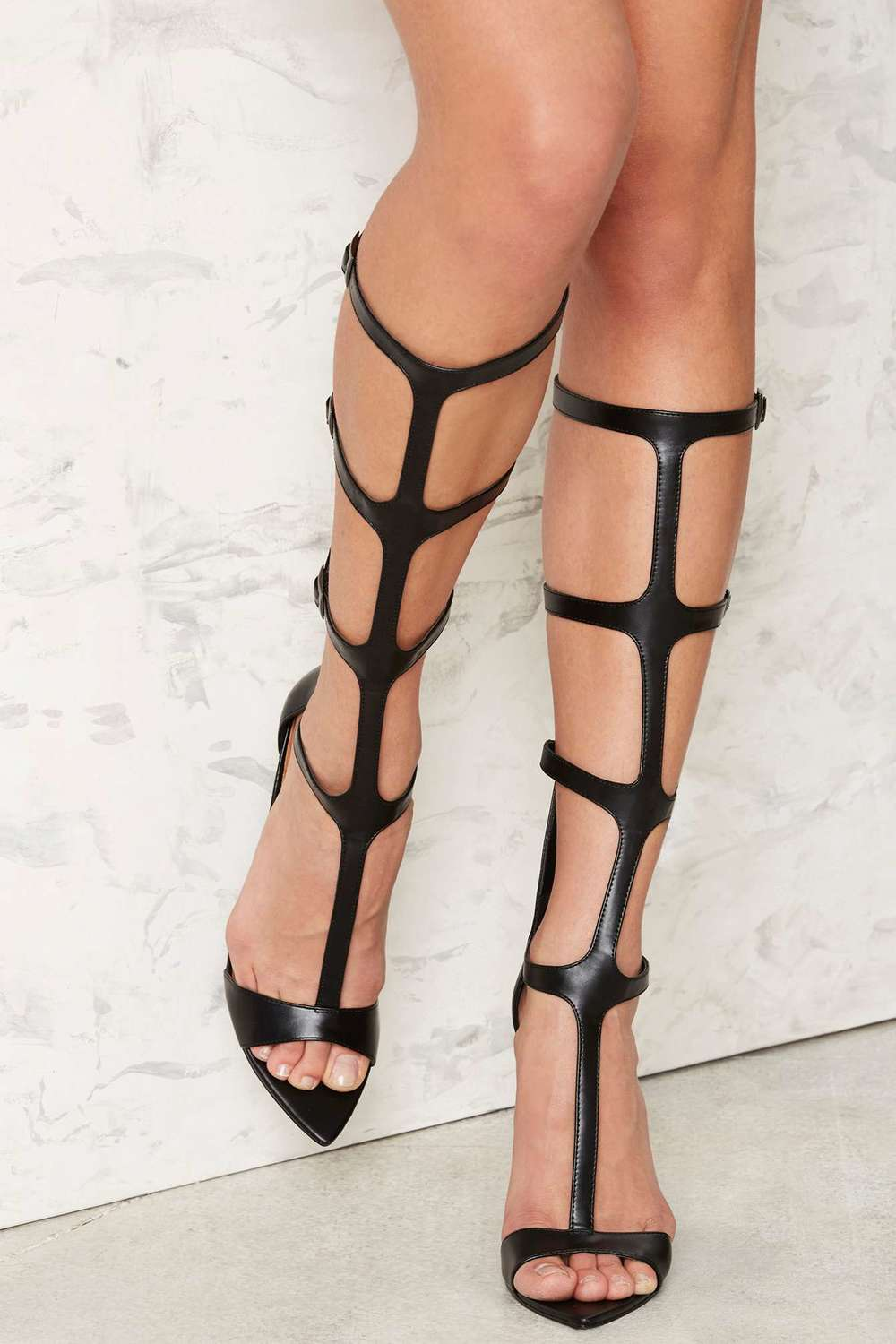 NASTY GAL GLADIATOR HEELED SANDAL
