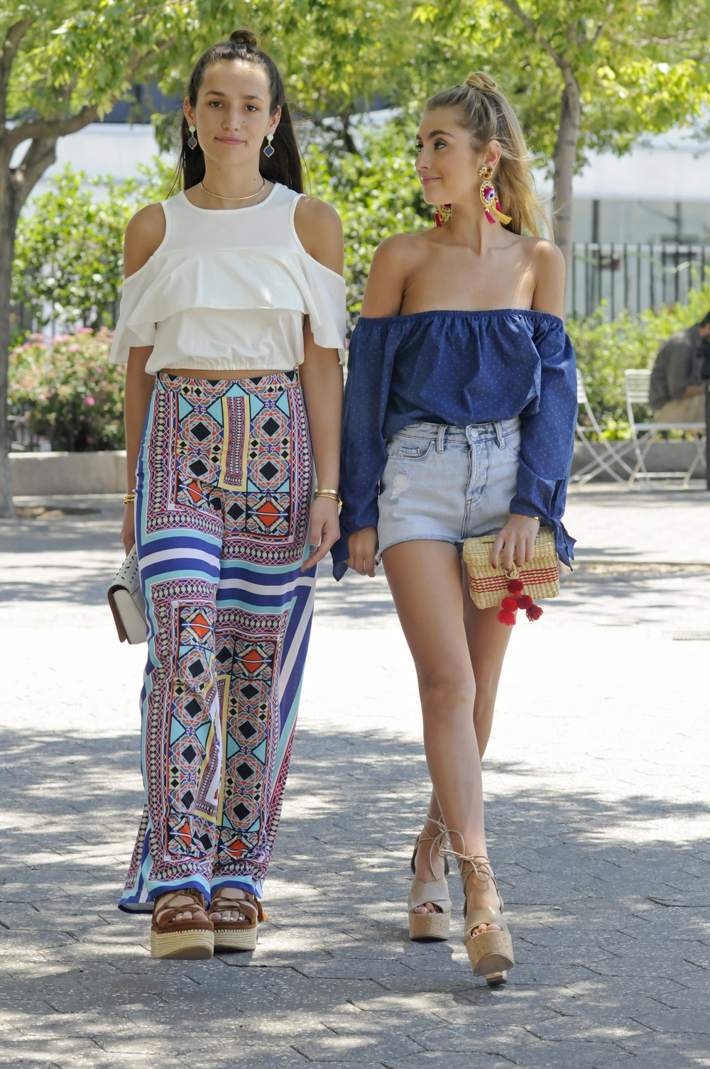 SOPHIE AND CHARLOTTE BICKLEY NYC SUMMER STREET STYLE