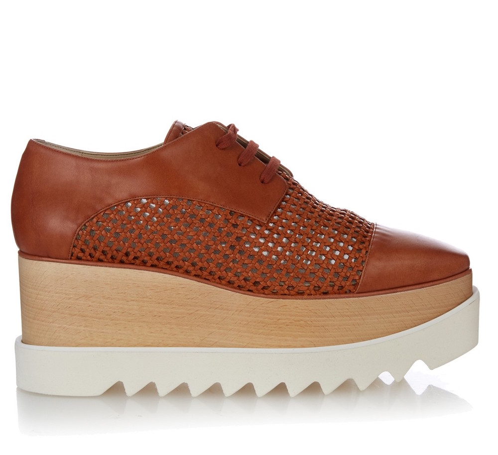 STELLA MCCARTNEY PLATFORM OXFORD SHOES