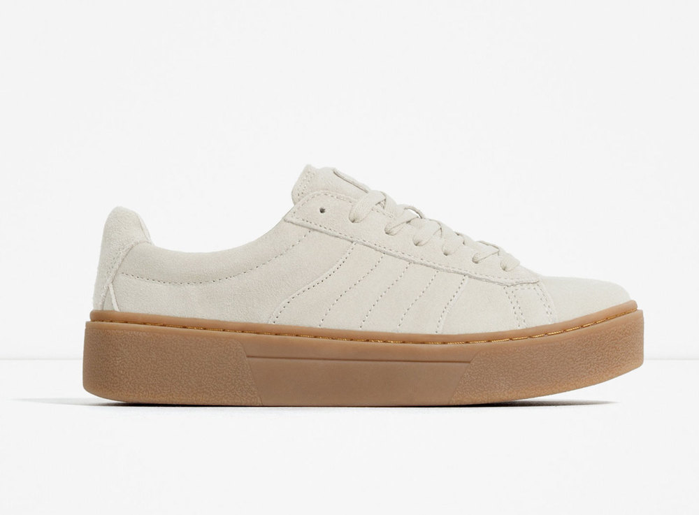 ZARA CHUNKY SOLED SNEAKERS