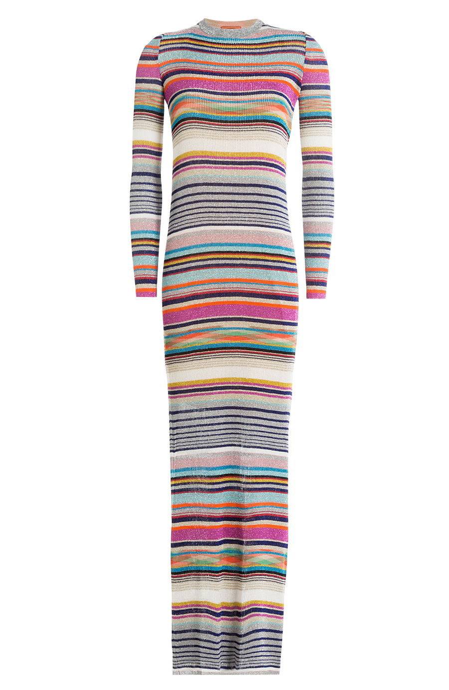 MISSONI STRIPED MAXI DRESS