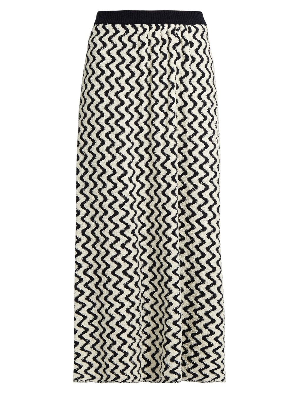 SEE BY CHLOÉ WAVE JACQUARD MAXI SKIRT