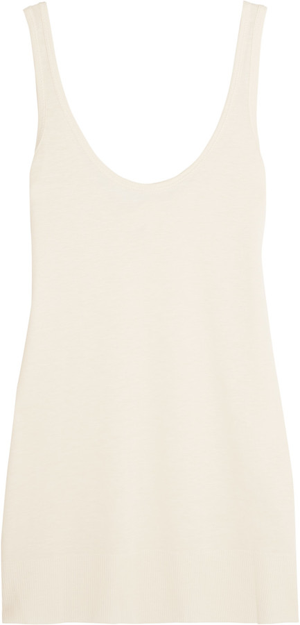 RAG AND BONE CREAM TANK