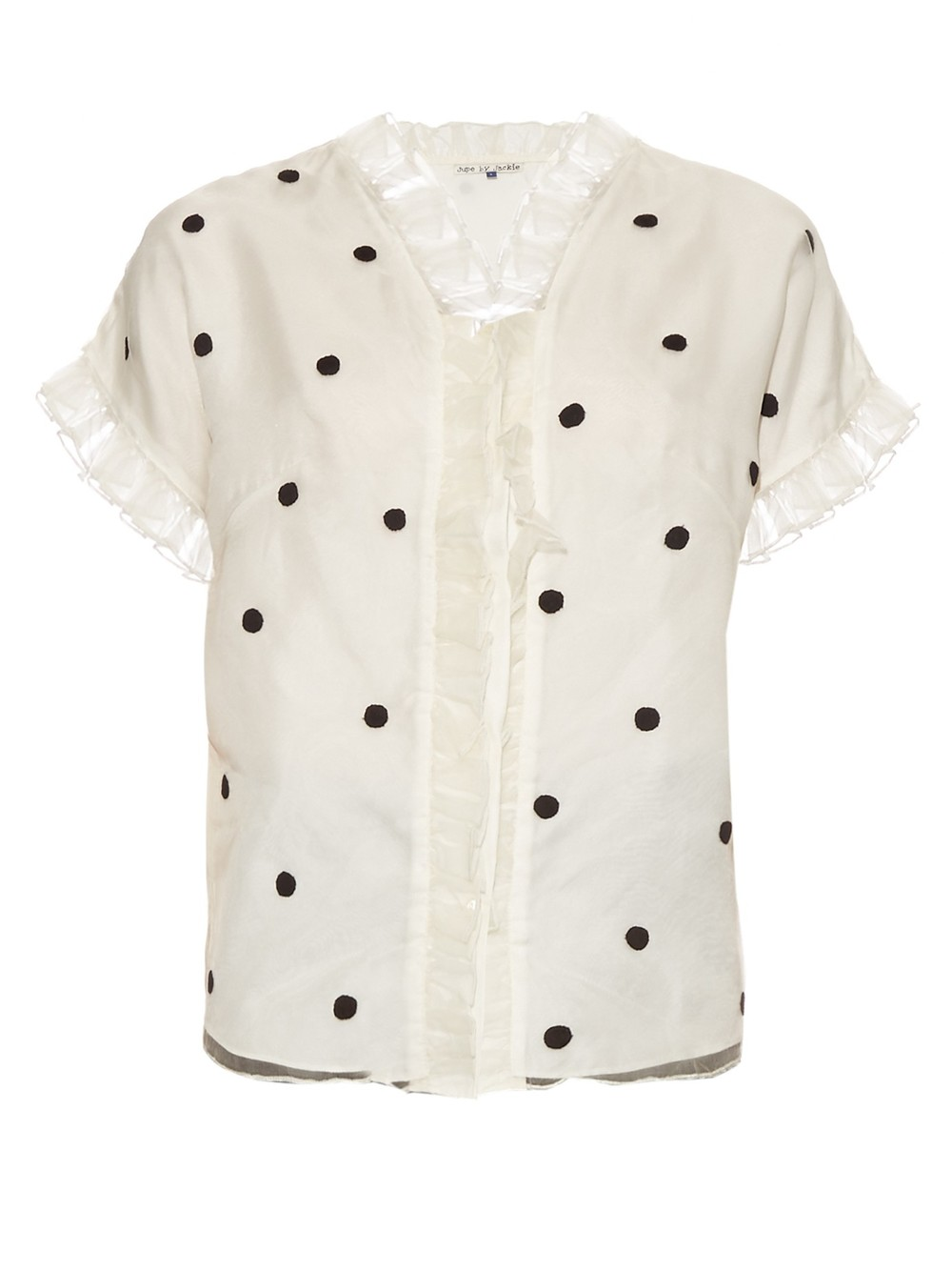 JUPE BY JACKIE POLKA DOT BLOUSE