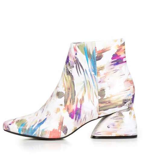 TOPSHOP PORTUGAL MULTI COLOR LIMITED EDITION BOOT