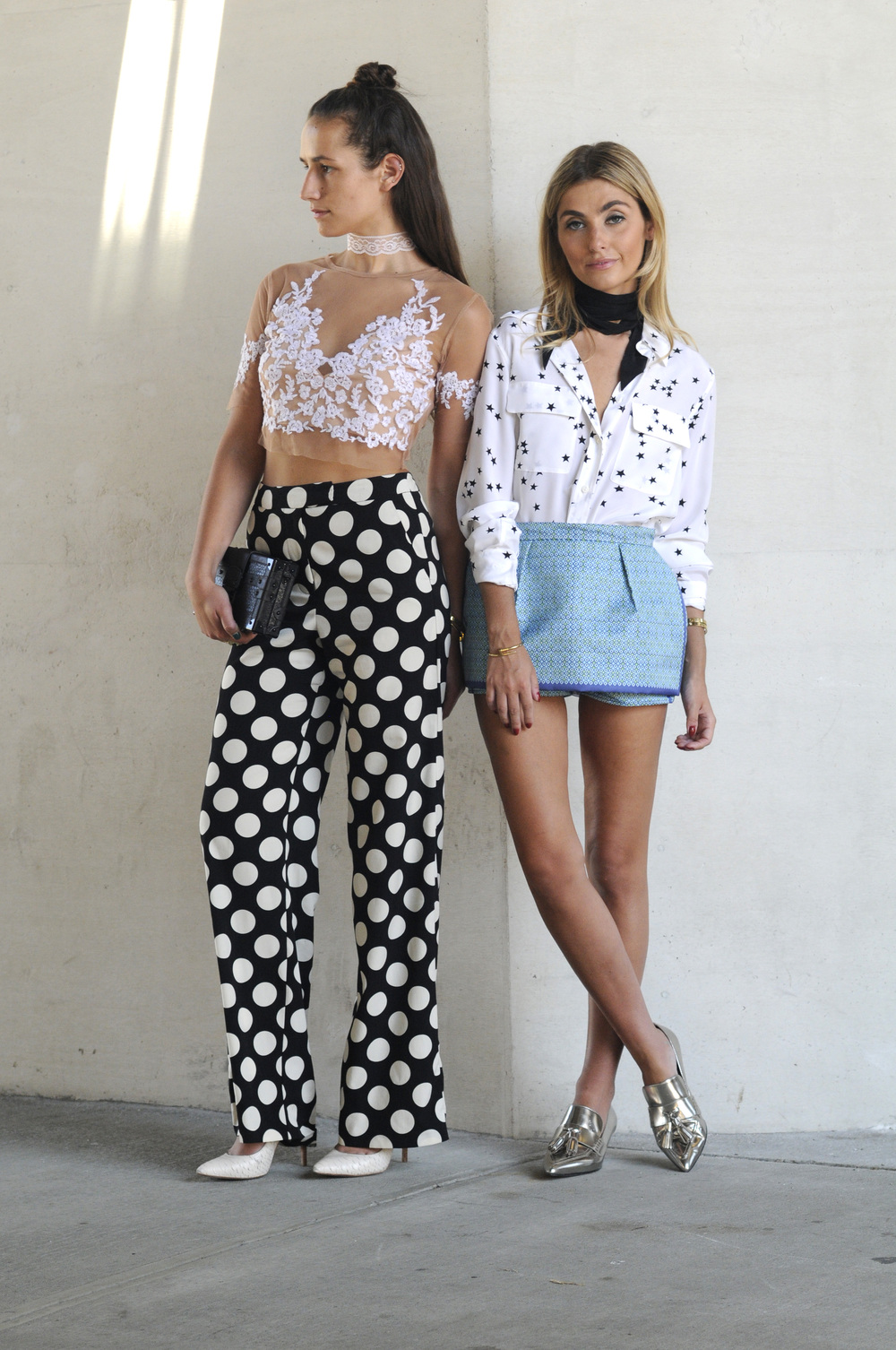 BICKLEY SISTERS FASHION BLOGGERS YIN 2MY YANG NYC STREET STYLE