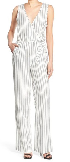 CUPCAKES AND CASHMERE 'JORDAN' STRIPE JUMPSUIT