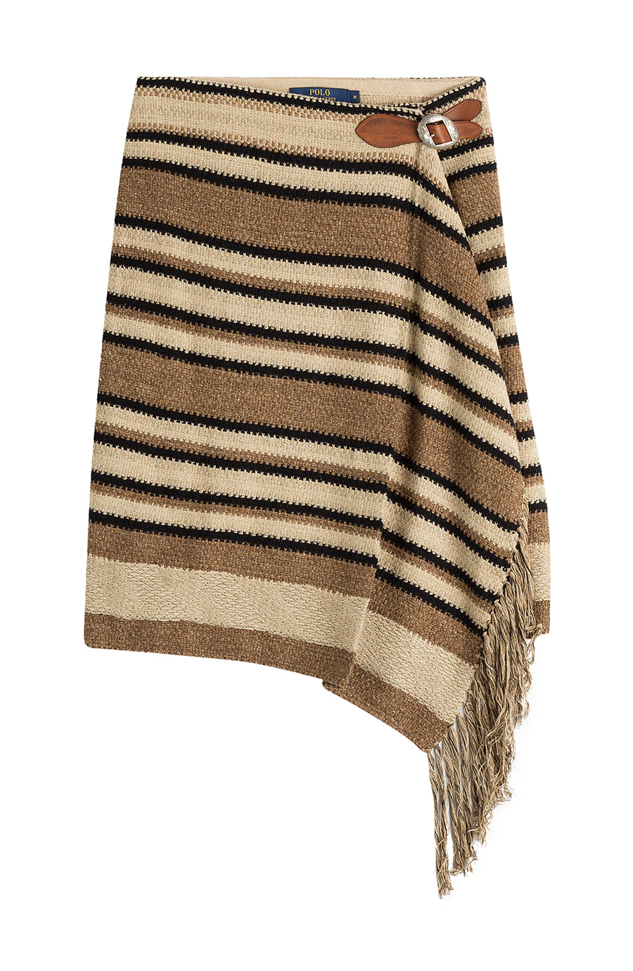 POLO RALPH LAUREN FRINGE STRIPED SKIRT