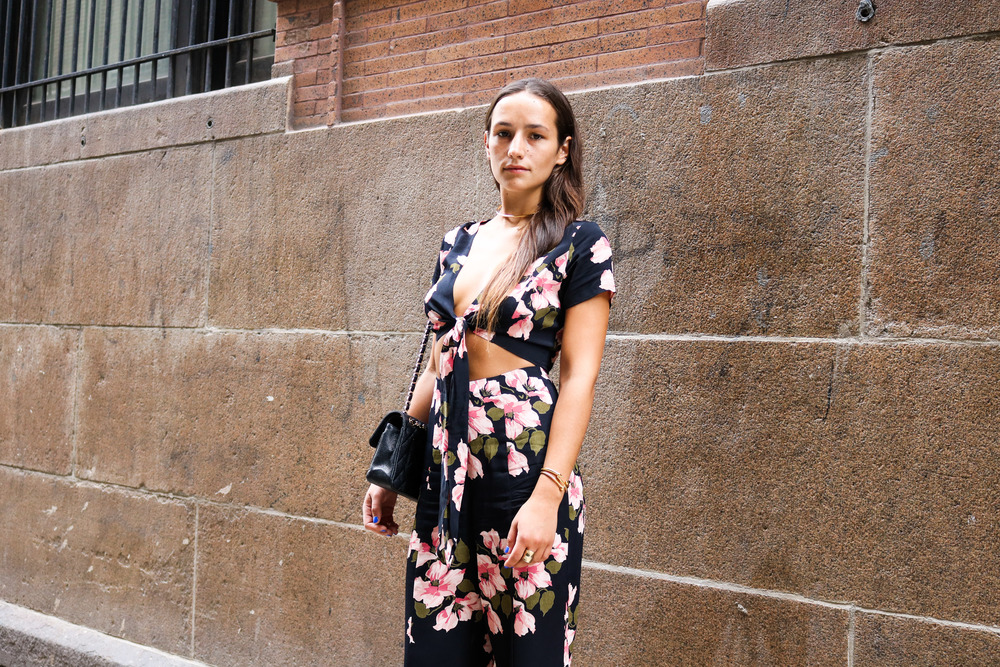 SOPHIE BICKLEY YIN 2MY YANG SISTER FASHION BLOGGER NEW YORK STREET STYLE FLORAL TREND