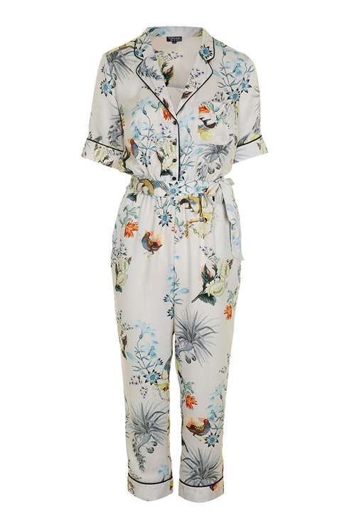 99bf8aa2ce07 TOPSHOP FLORAL ORIENTAL JUMPSUIT