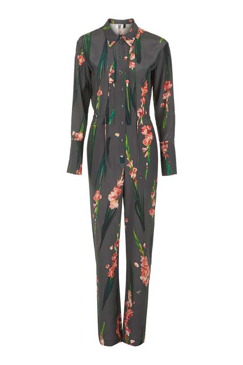 SELWYN FORAL JUMPSUIT BY UNIQUE
