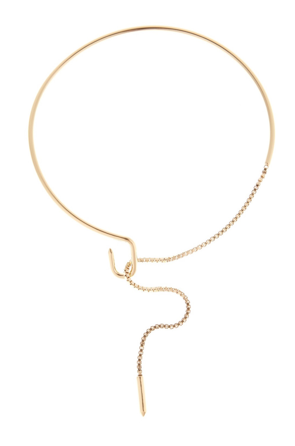 EDDIE BORGO 'ALLURE' GOLD PLATED CHOKER