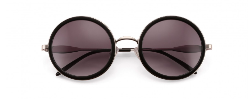 WILDFOX 'RYDER' ROUND SUNGLASSES