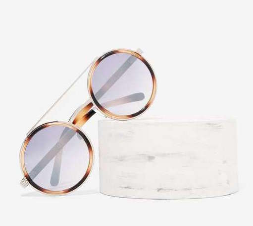 FACTORY WIRE CIRCLE SUNGLASSES