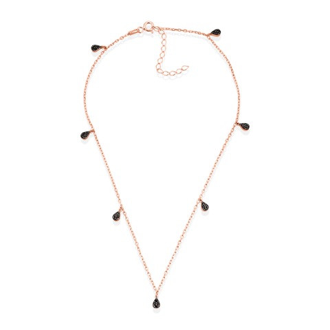 ALEX MIKA TEARDROP NECKLACE