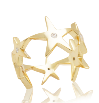 ALEX MIKA MULTI STAR RING