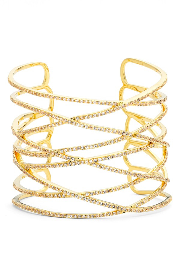 ALEX MIKA CRISS CROSS CUFF