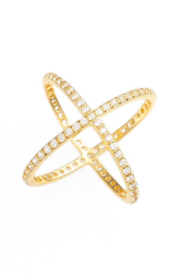 ALEX MIKA CRISS CROSS RING