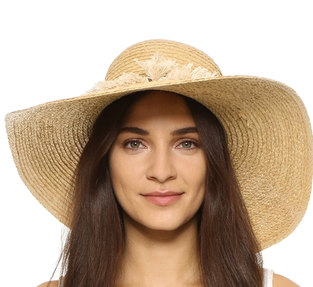 HAT ATTACK RAFFIA BRAID BRIM SUNHAT