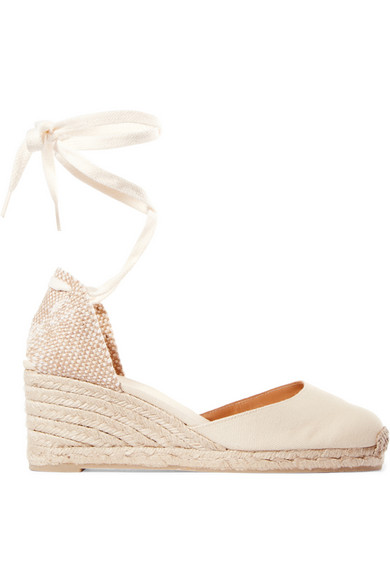 CASTAÑER 'CARINA' CANVAS WEDGE