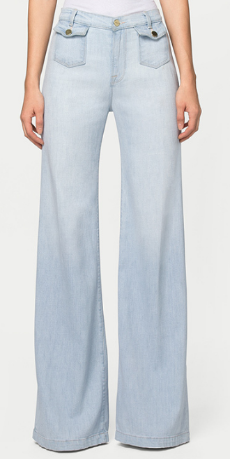 FRAME DENIM 'SOHO' FLARE TROUSERS