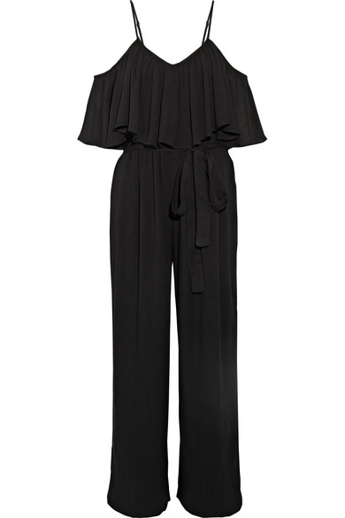 MARA HOFFMAN OFF THE SHOULDER JUMPSUIT