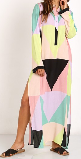 MARA HOFFMAN 'MOSAIC' MAXI DRESS