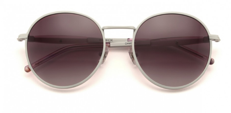 WILDFOX 'DAKOTA' ROUND SUNGLASSES
