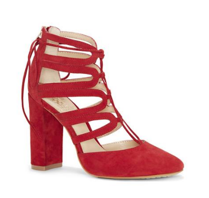 VINCE CAMUTO CUT-OUT PUMP