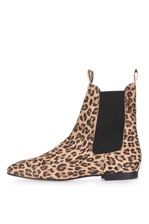 TOPSHOP APPLE CHELSEA BOOTS