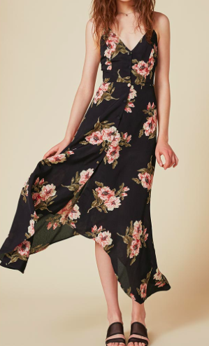 REFORMATION 'SAVANAH' FLORAL DRESS