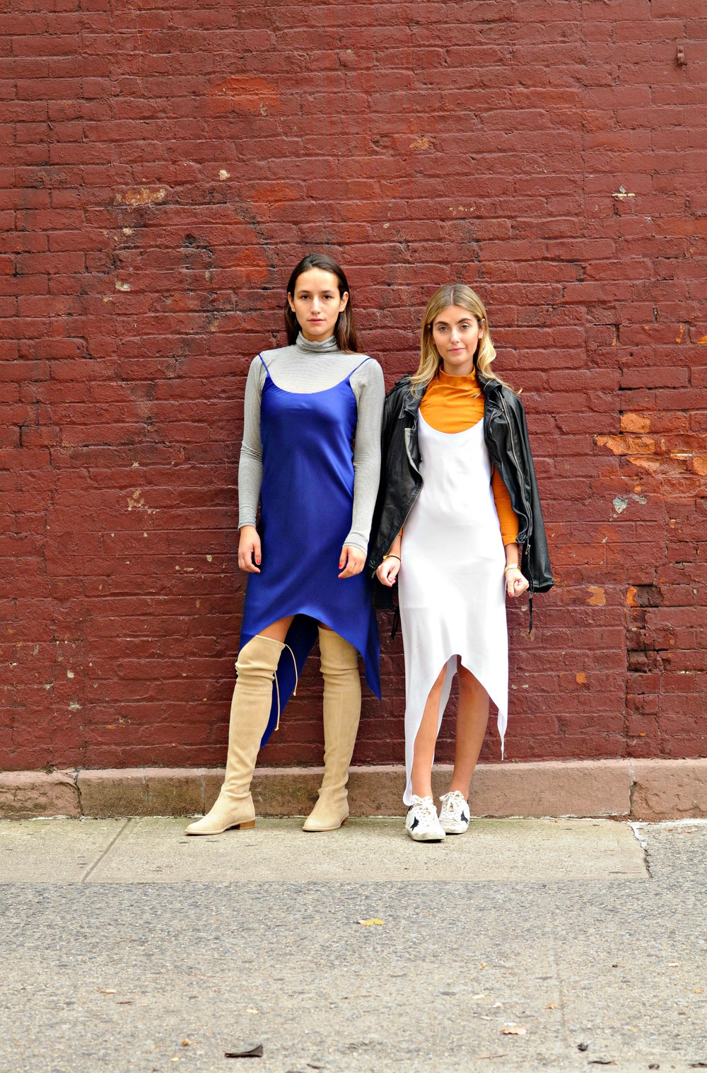 SOPHIE AND CHARLOTTE BICKLEY YIN 2MY YANG SLIP DRESS TREND
