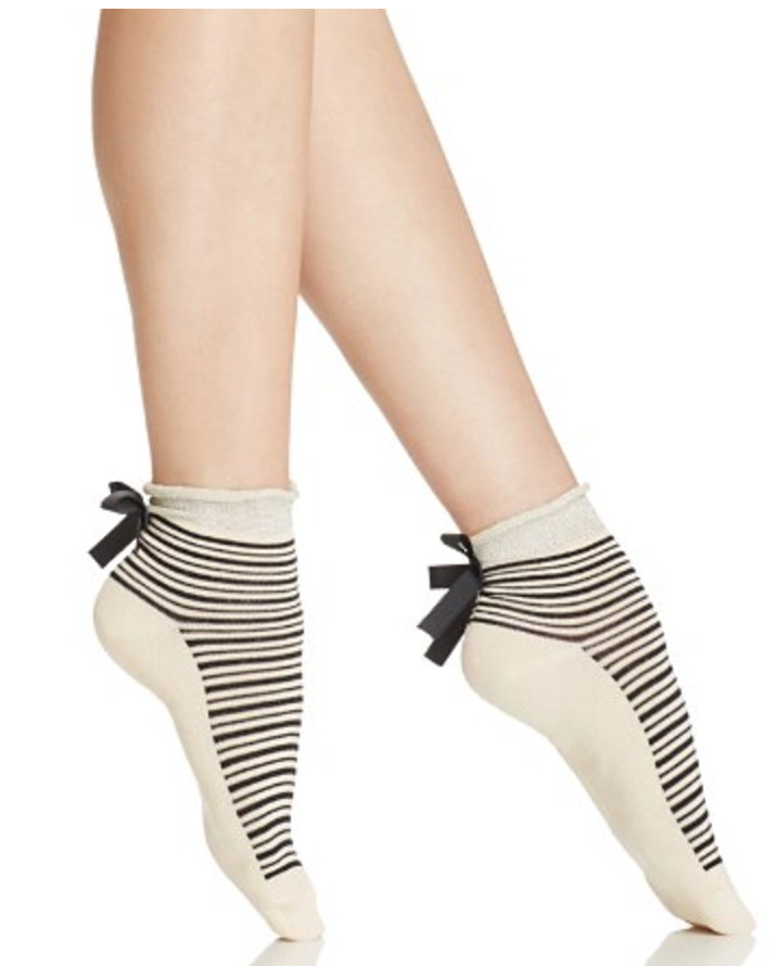 FREE PEOPLE PARISI STRIPE ANKLE SOCK