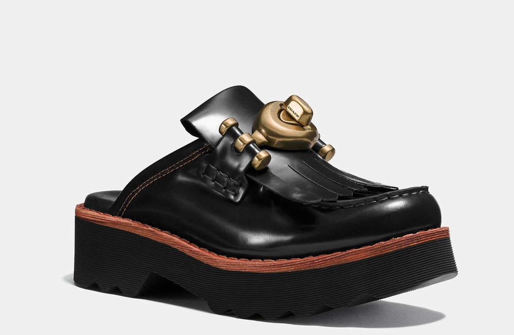 COACH TURNLOCK CREEPER CLOGS