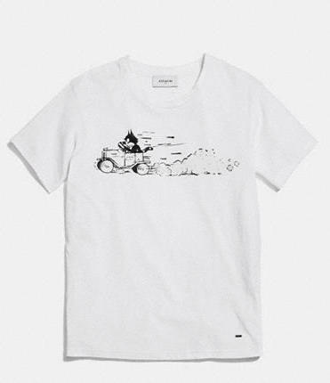 COACH FELIX DRIVING TEE SHIRT