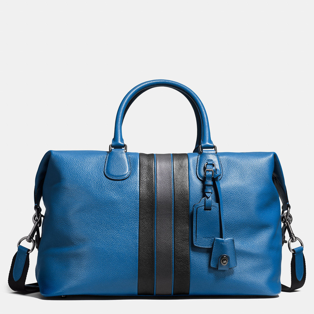 COACH VARSITY STRIPE EXPLORER BAG