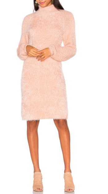 MINKPINK SOFT SERVE SWEATER DRESS