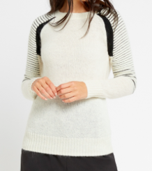 SLATE & STONE 'KAILEE' CREW NECK SWEATER