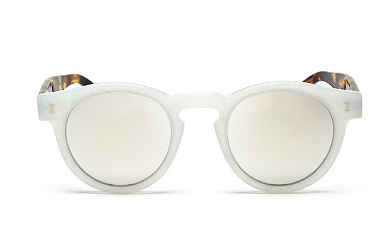 ILLESTEVA METALLIC MIRRORED SUNGLASSES