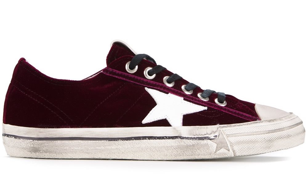 GOLDEN GOOSE VELVET SNEAKERS