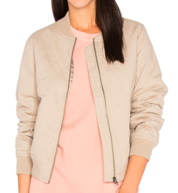 SINCERELY JULES GIRL BOMBER JACKET