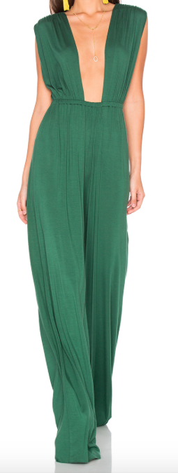 RACHEL PALLY GREEN REVERSIBLE JUMPSUIT