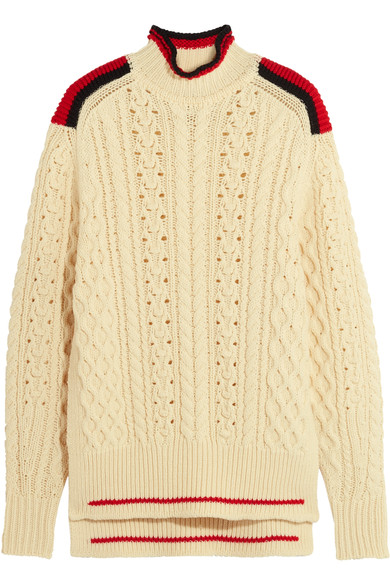 ISABEL MARANT 'EDISON' OVERSIZED WOOL BLEND SWEATER