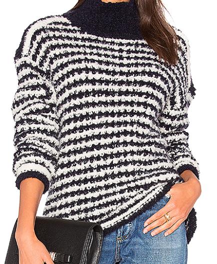 CACHAREL ESKIMO STRIPED SWEATER
