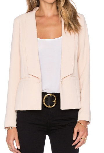 GREMLIN 'KRISSA' PLEATED BLAZER