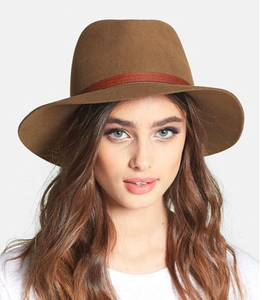 RAG & BONE BRIM FELTED WOOL FEDORA
