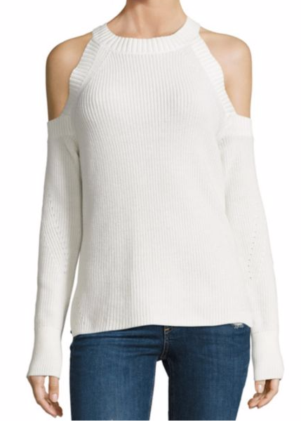 RAG & BONE 'DANA' COLD SHOULDER SWEATER
