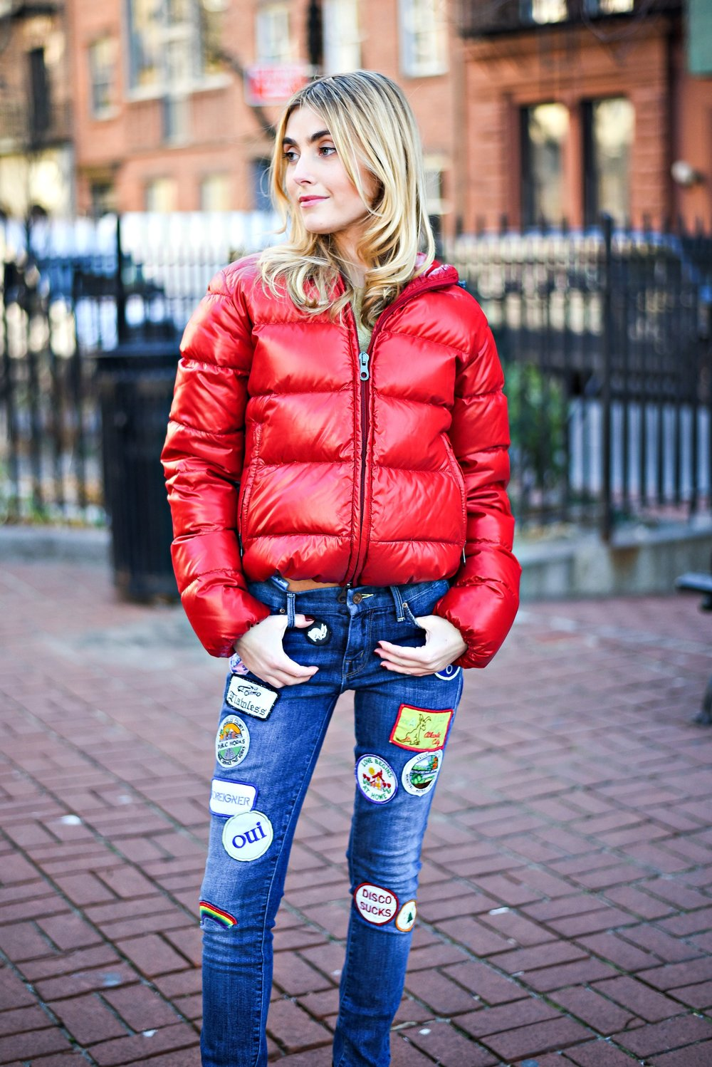 CHARLOTTE BICKLEY YIN 2MY YANG SISTER FASHION BLOGGERS NYC PUFFER JACKETS