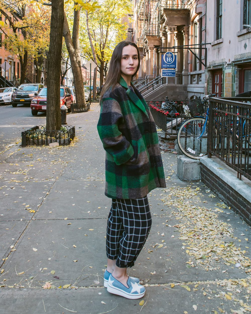SOPHIE BICKLEY YIN 2MY YANG SISTER FASHION BLOGGERS PLAID POST